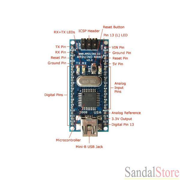arduino nano 3.0控制板